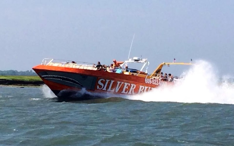 Silver Bullet Tours Jet Boat Rides in Cape May County NJ