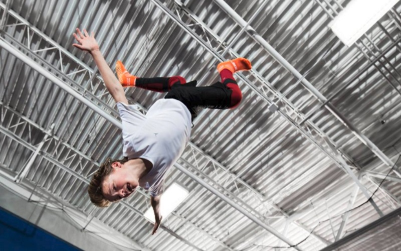 Everyone can jump at Sky Zone of Ocean, a fun indoor family attraction.