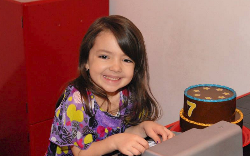 All smiles at the greatest party place for toddlers in NJ, Kidz Village.