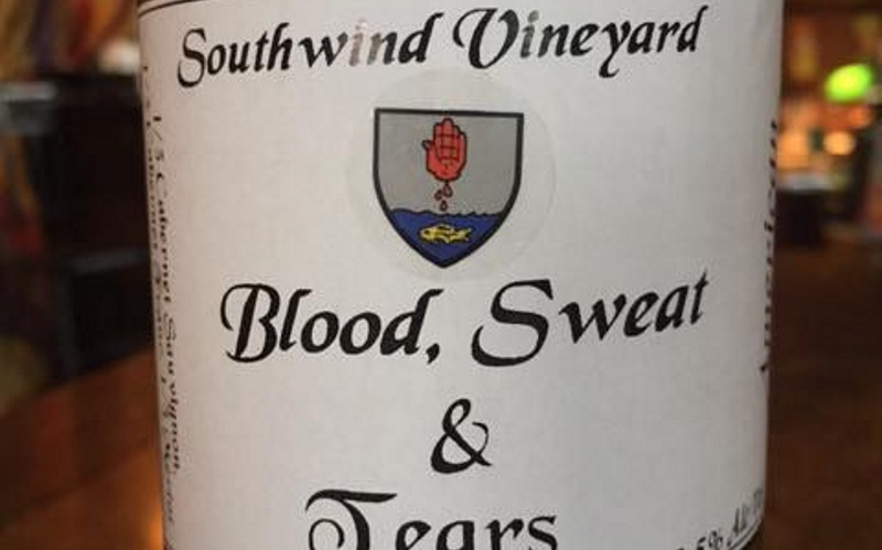 Image of a wine label
