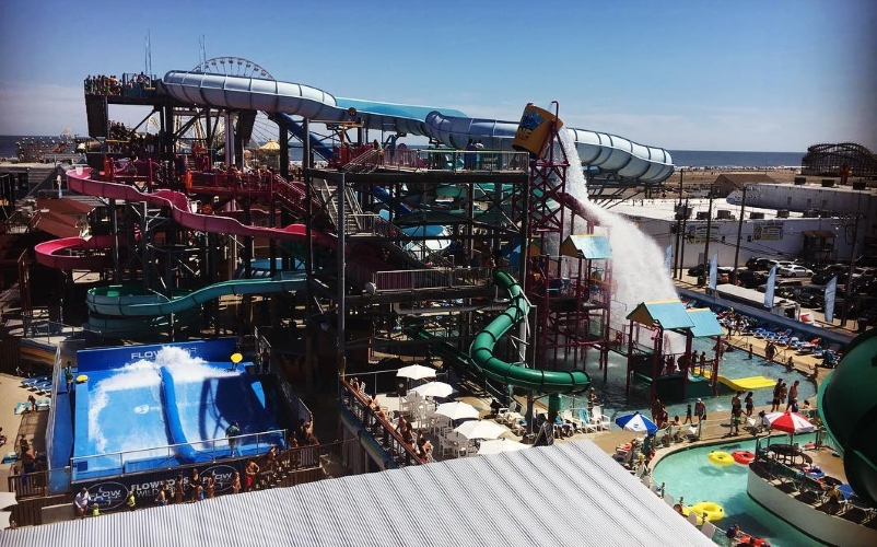 Splash Zone Water Park Kids Party Places in Southern NJ