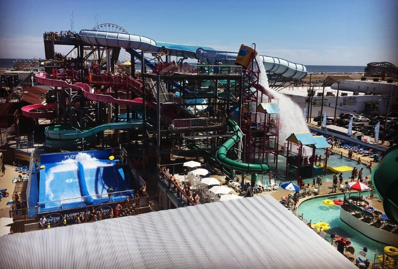 Splash Zone Waterpark Jersey Shore Attraction