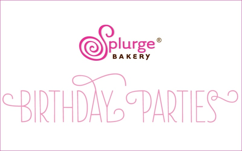Splurge Bakery Party Place in Northern NJ