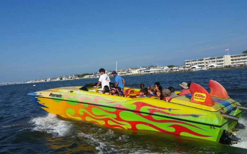 Stormin Speedboat Jet Boat Rides in Southern New Jersey