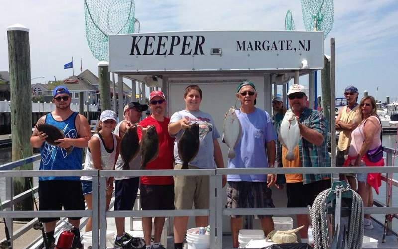 The Keeper Pontoon Fishing Charter Rentals in Southern NJ