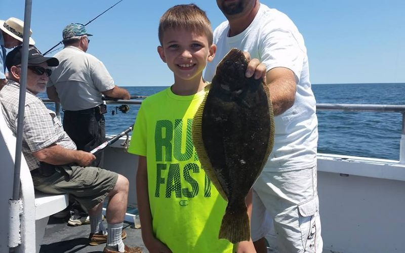 The Ocean Explorer party boats fishing in Monmouth County NJ