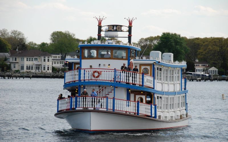 The River Queen Sightseeing Cruises in Ocean County New Jersey