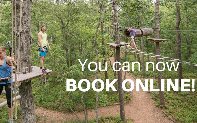 Tree to Tree Adventure Park Best Shore Activities in Cape May County, NJ