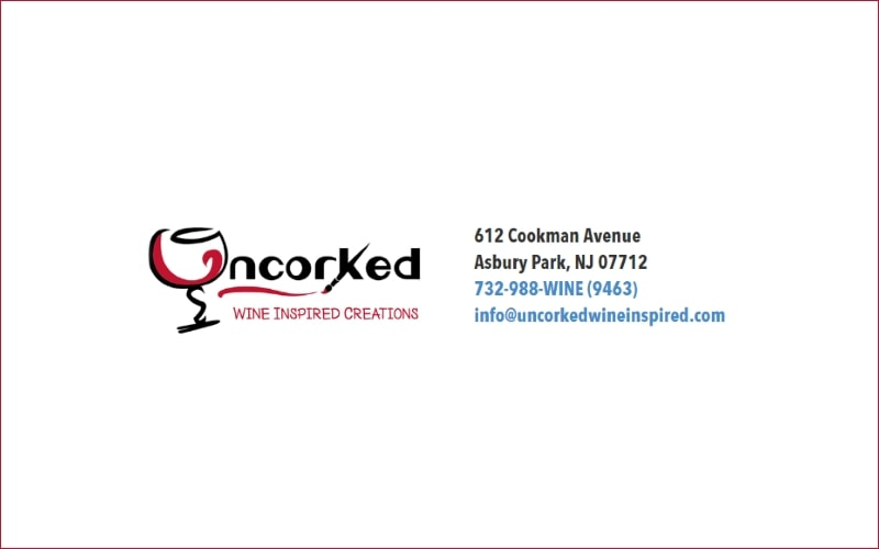 Uncorked Wine Inspired Creations Romantic Date Idea in Asbury Park, NJ