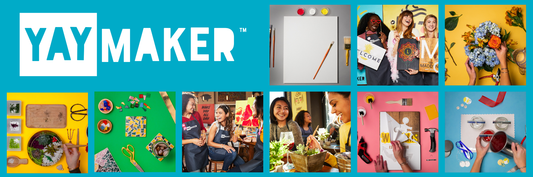 Yaymaker- Original Paint Nite Offering Craft Classes  Across New Jersey