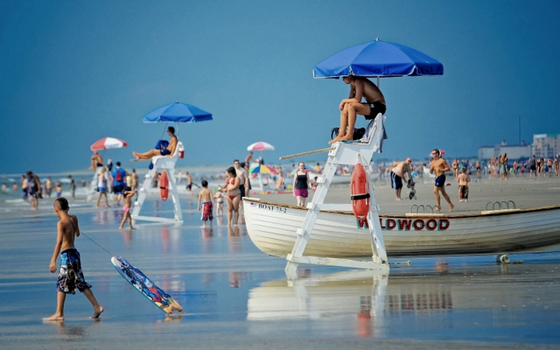 Wildwood NJ Beaches Free Attractions Southern Jersey